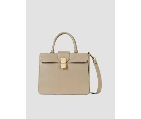 trussardi tote bag lione large in similpelle