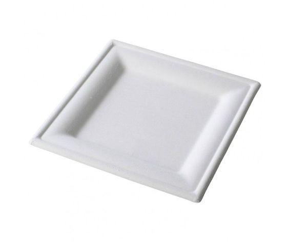 packaging4you piatti piani quadrati compostabilibio 20x20cm 20cfx50pz