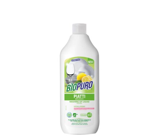 Biopuro Detersivo Concentrato Per Piatti - Pelli Sensibili (100 Lavaggi) 500 Ml