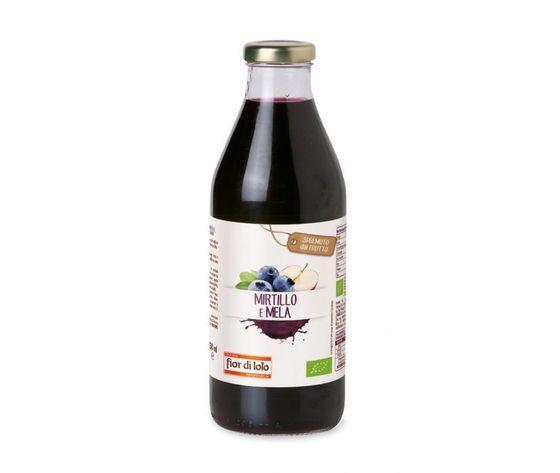 fior di loto succo di mela e mirtillo  conf. 750 ml scadenza 12/08/2023