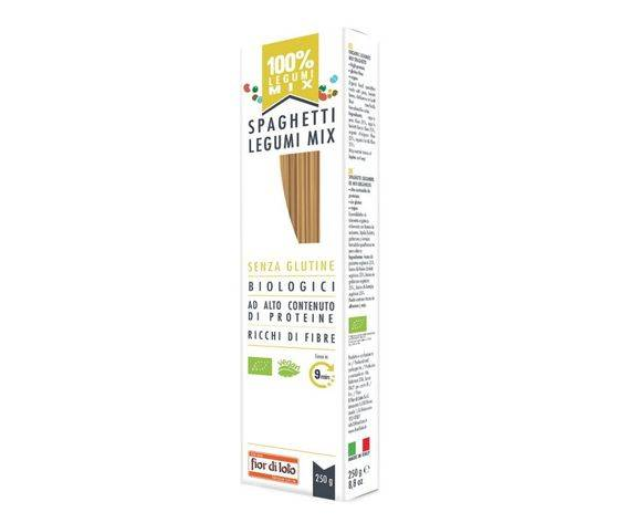 Fior di loto Spaghetti Di Mix Di Legumi 250 G