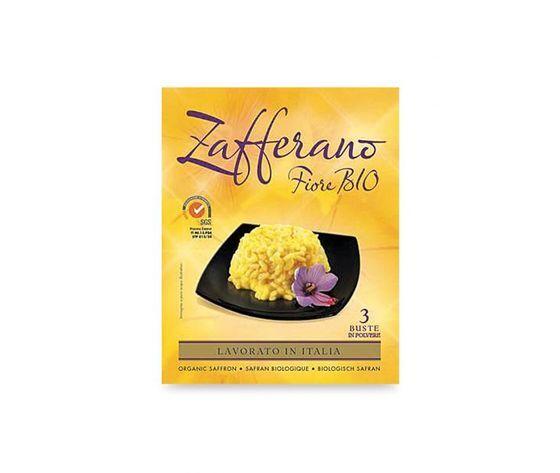 Zafferano fiore bio Zafferano In Polvere 3 Bustine Fiore Bio 3 X 0,13 G
