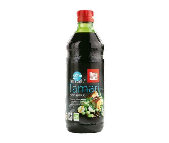 Lima Salsa Di Soia Tamari -25% Sale Senza Glutine 500 Ml Scadenza 19/04/2023