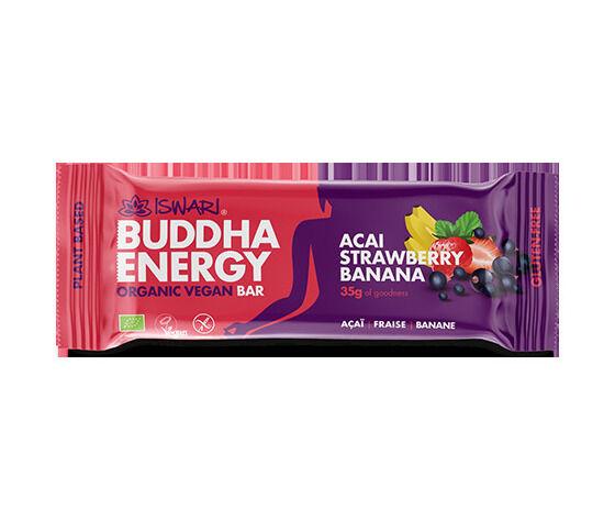 iswari barretta vegan acai, fragola e banana - buddha energy