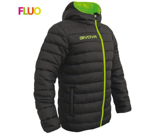 GIVOVA Giubbotto Olanda Nero/verde Fluo