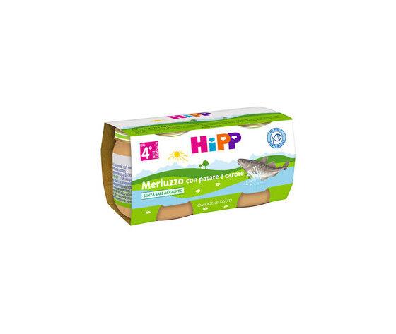 Hipp Bio Omogeneizzato Di Pesce 2x80g
