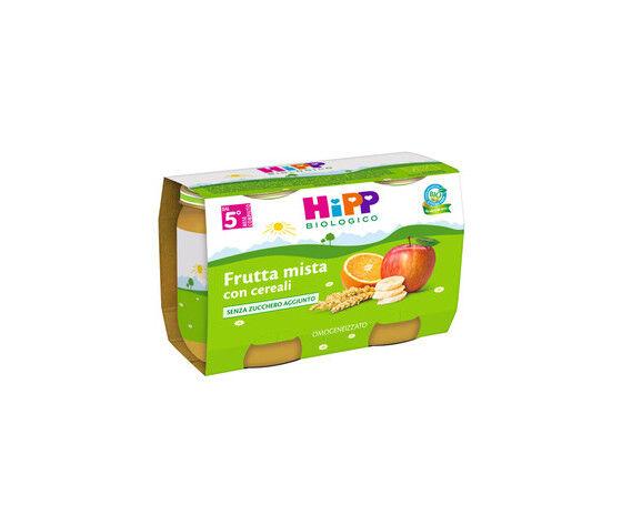 Hipp Bio Merenda Frutta E Cereali 2x125g