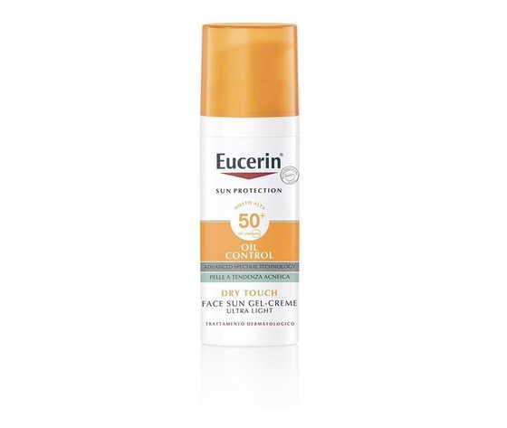 eucerin sun oil control gel-creme spf 50+ - pelle a tendenza acneica 50 ml