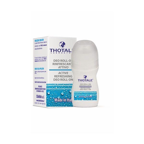 thotale deodorante roll, on rinfrescante per pelli sensibili