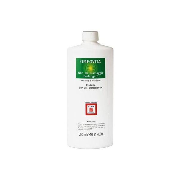 Olio eudermico per massaggio omeovita, 500 ml
