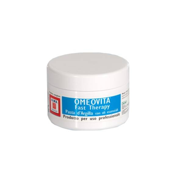 Pasta d'argilla olii essenziali per contusioni o ematomi omeovita