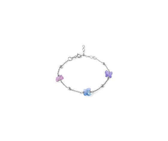 AFRODITE Bracciale Colorato, Rosa Turchese Violetto
