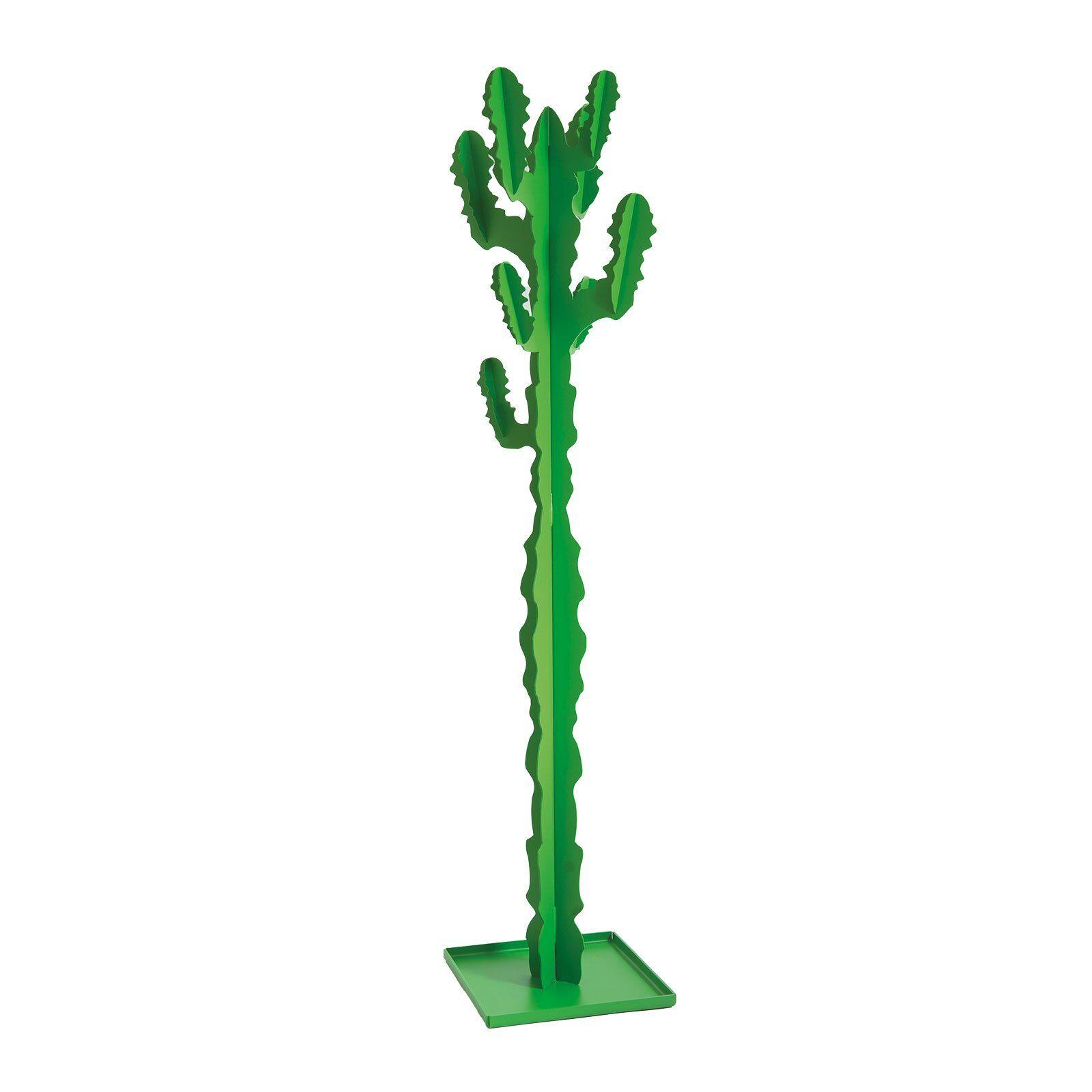 Casa Shop Appendiabiti da terra Cactus Bianco