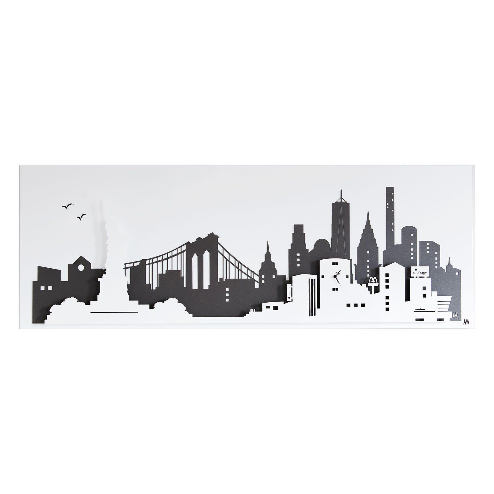 Casa Shop Pannello da parete New York Beige e Nocciola