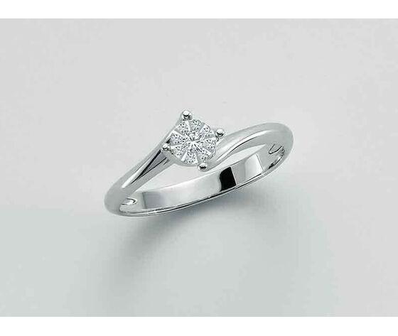 MILUNA Anello Da Donna  Con Diamanti