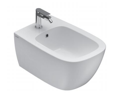 Caesaroo Bidet sospeso 36x55 cm in ceramica Globo serie Genesis Bianco lucido