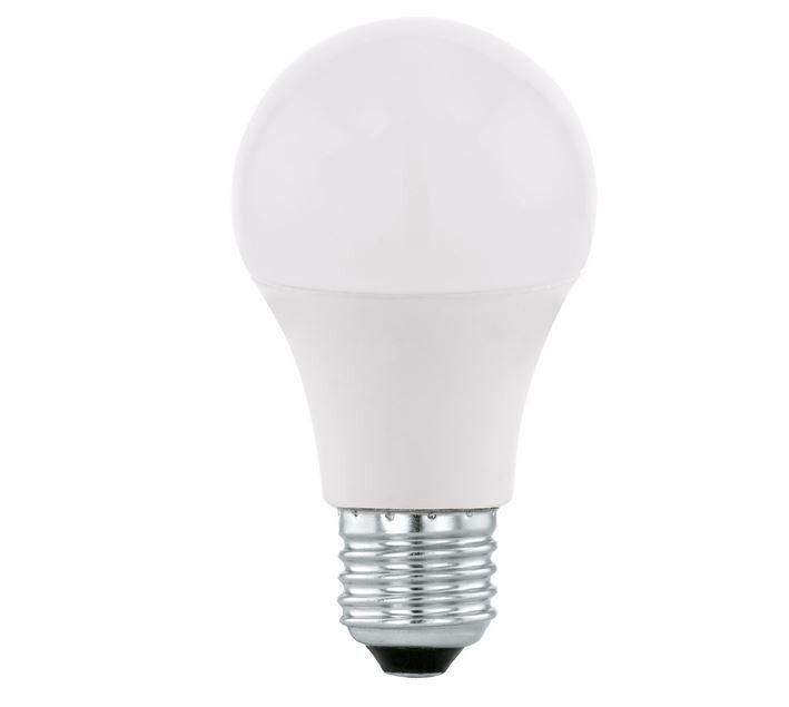 caesaroo lampadina a goccia led-hv luce bianca calda 2700 k attacco e27 9w   bianco