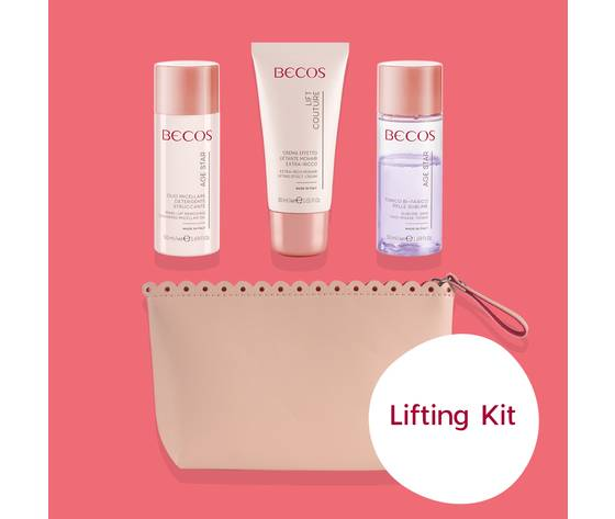becos lifting kit my beauty routine