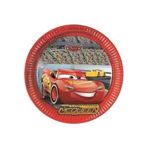 Decorata Party Piatto Cars