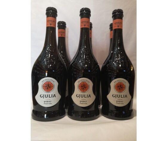 "Birra Agricola Friulana Giulia Ambrata Ovest Est ""Birrificio Giulia''"