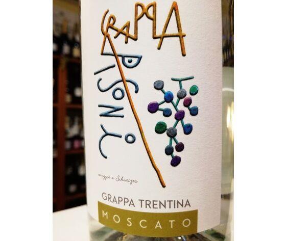 Grappa Trentina Di Moscato 43°vol. ''Distilleria Pisoni In Pergolese Di Madruzzo Tn''