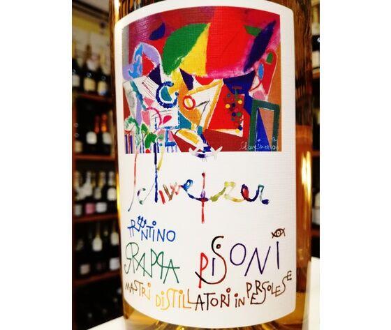 Grappa Trentina Schweizer Barricata 40°vol. Formato Magnum 1500 Ml ''Distilleria Pisoni In Pergolese Di Madruzzo Tn''