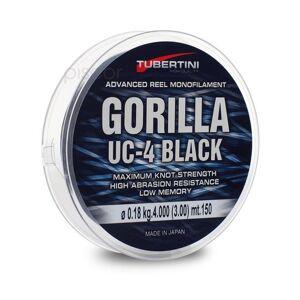 Tubertini Nylon Uc-4 Black Gorilla Mt.300 + 50 0,22mm.