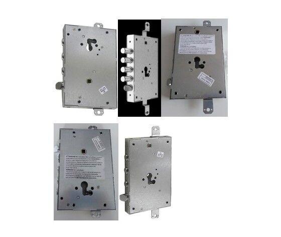 iseo serratura a cilindro a ingranaggi per porte blindate  serie 668 g/gf