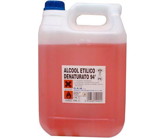 Alcool Denaturato L 5 99°