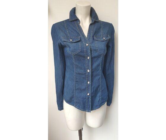 camicia donna in jeans