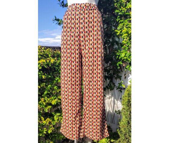 pantaloni donna larghi con tasche