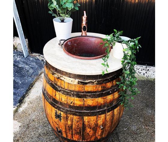 mobile bagno botte vino
