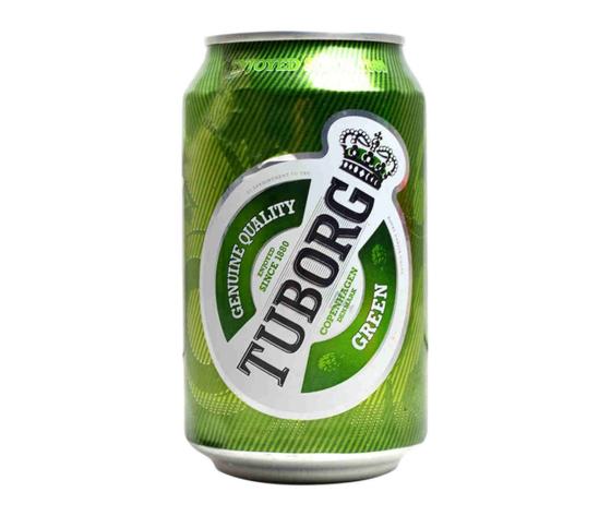 TUBORG Birra Lattina 5% Vol. Cl.33x24