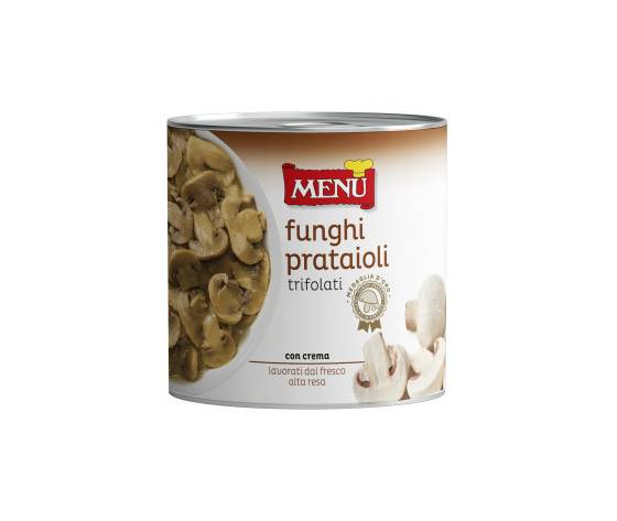 MENU' Funghi Prataioli Trifolati Aset.Kg.2.5