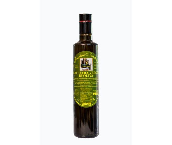 Frantoio Nuvolone Olio Extravergine Di Olive Taggiasche Bottiglia Antirabbocco Da 0,5 L.