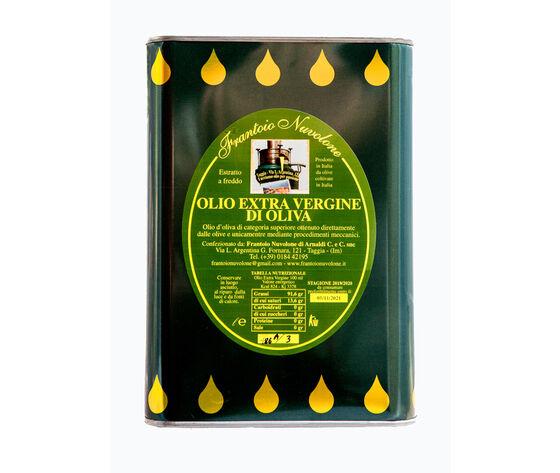 Frantoio Nuvolone Olio Extravergine Di Olive Taggiasche Lattina Da 3 L.