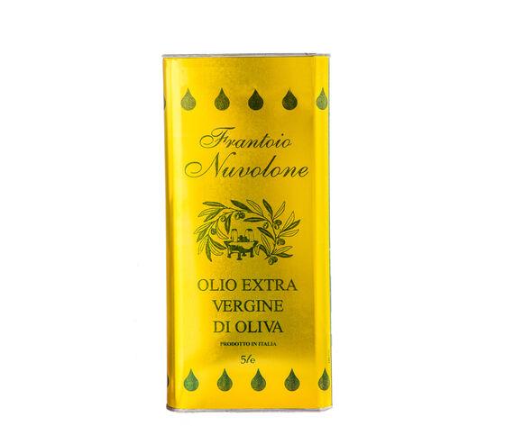 Frantoio Nuvolone Olio Extravergine Di Olive Taggiasche Lattina Da 5 L.
