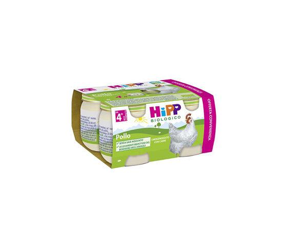 HIPP Bio Omogeneizzato Pollo 4x80