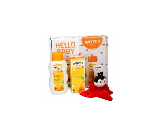 Weleda Kit Baby Olio Extra Delicato + Crema Cambio Protettiva Calendula