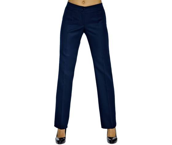 pantalone donna trendy blu 100% lana 024472 isacco