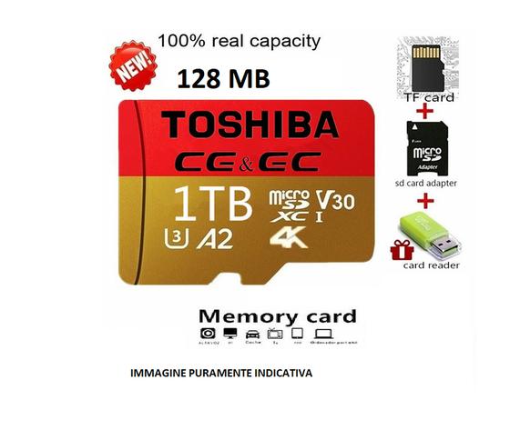 toshiba micro sd 128 mb