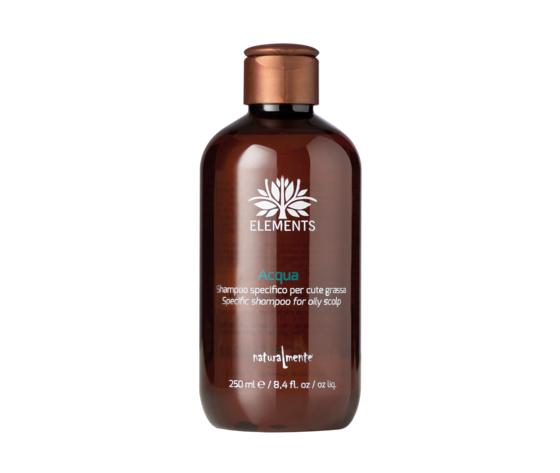 naturalmente shampoo elements acqua 250ml