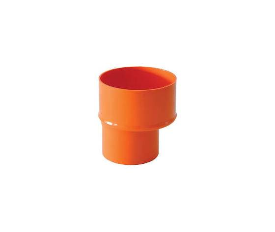 cdm plast riduzione 125x100 pvc arancio incollaggio confezione 10 pezzi