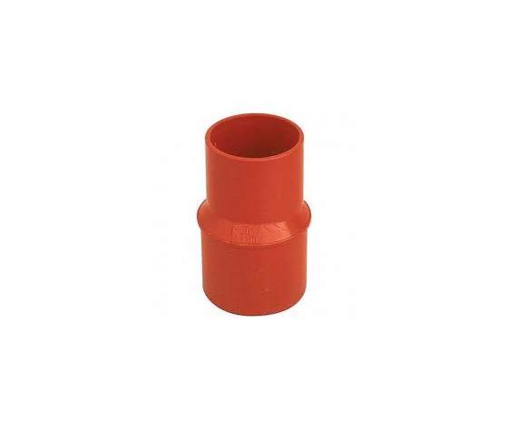cdm plast aumento 100x125 pvc arancio incollaggio confezione 10 pezzi