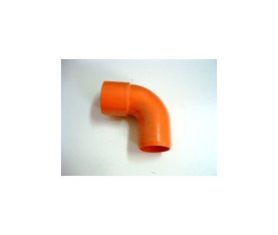 plastubital curva da 125 a 90° pvc arancio