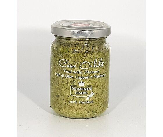 Pesto Di Olive Capperi E Mandorle