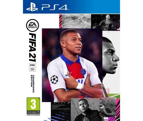 ea sports fifa 21 - playstation 4 include upgrade per ps5
