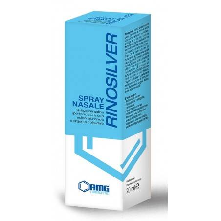 Amg Farmaceutici Srl Rinosilver Spray Nasale 20ml