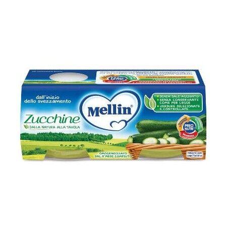 Mellin Omog Zucchine 2x80g