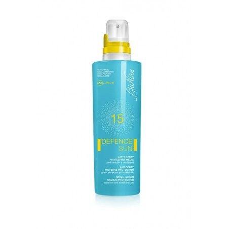 Sun Bionike Defence Sun Latte Spray Spf 15 Protezione Media 200ml
